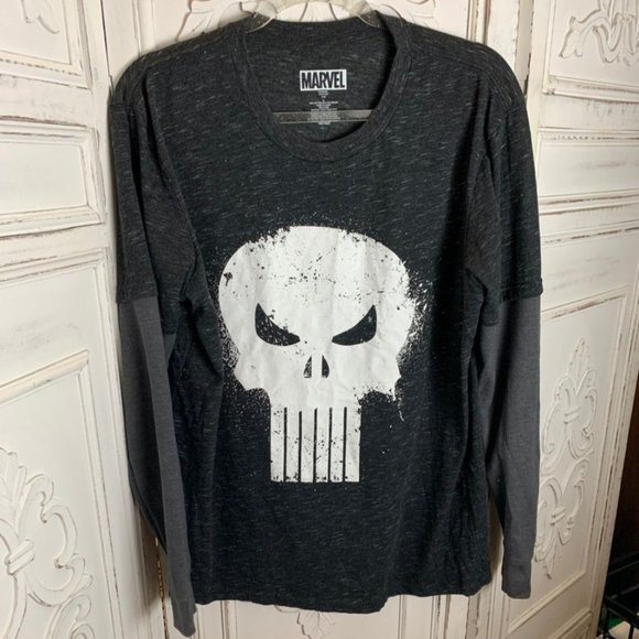 Punisher Long Sleeve Shirt L
